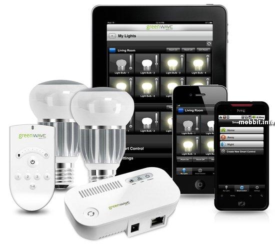 Светодиодная Wi-Fi-лампочка