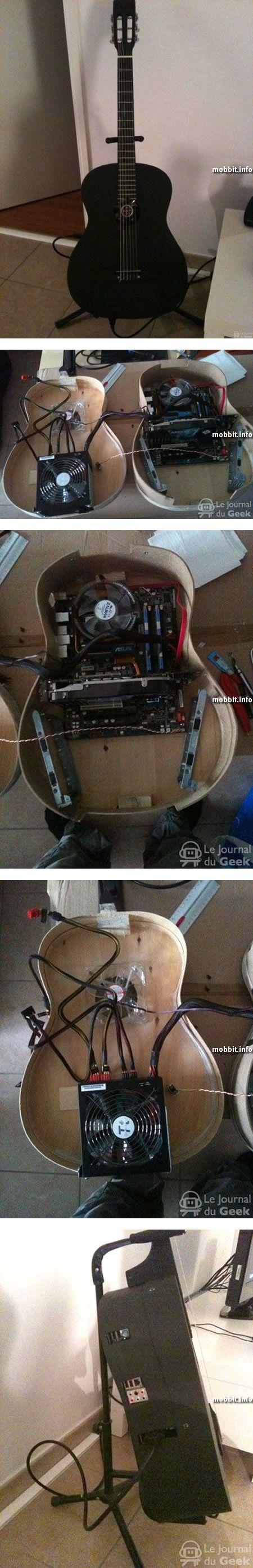 Компьютер в гитаре