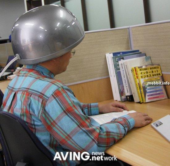 Шлем для массажа головы