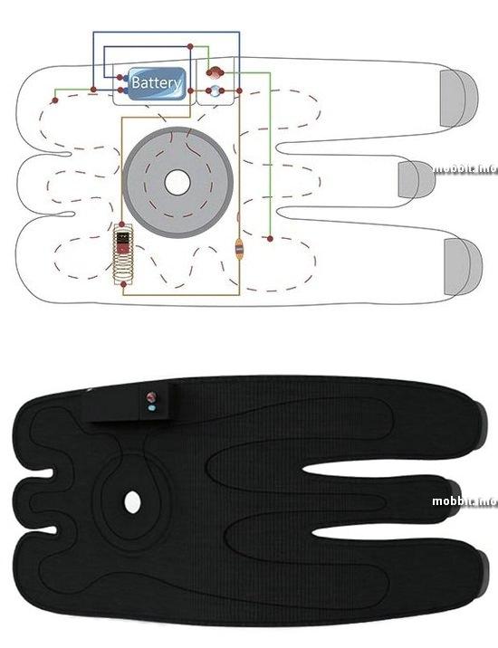 Energy Storage Heating Knee Pad