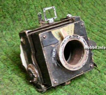 Самодельный стимпанковский фотоаппарат