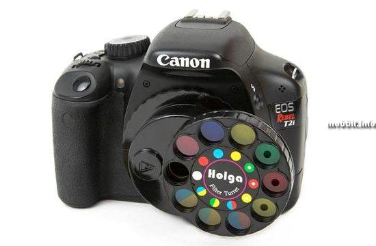 Набор «игрушечных» фотофильтров для зеркальных камер