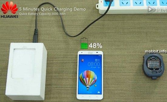 Аккумуляторы с супербыстрой зарядкой от Huawei
