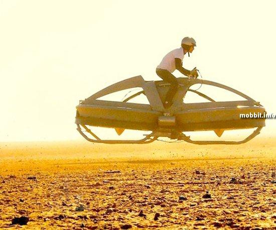 Летающий мотоцикл из «Звездных войн»