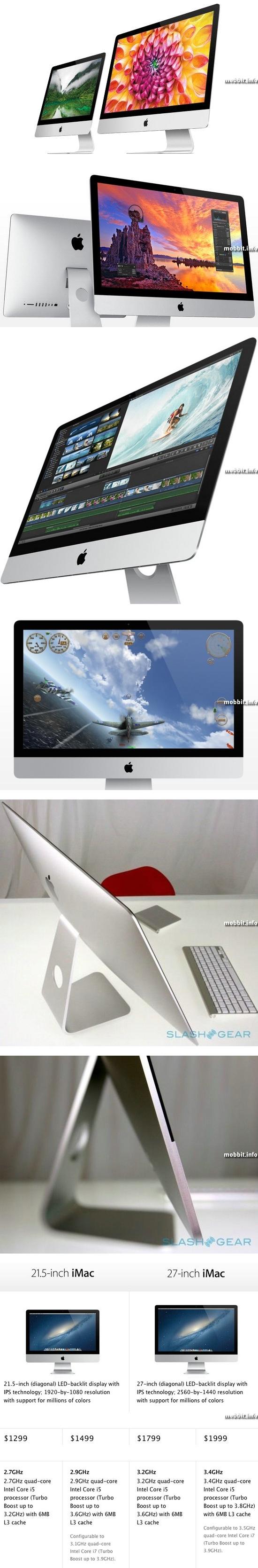 Новое поколение моноблоков Apple iMac
