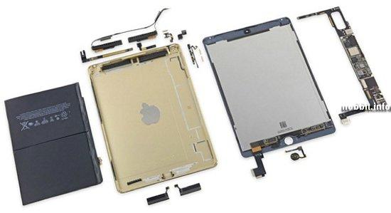 «Железо» планшета iPad Air 2 оценено в 275 долларов