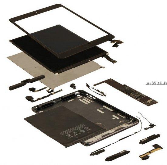 Стоимость комплектующих iPad mini равняется 188 долларам