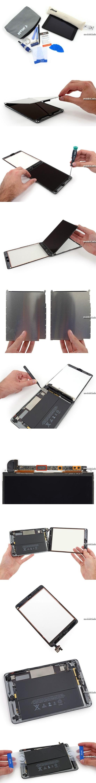 Новый планшет Apple iPad mini с дисплеем Retina разобран специалистами iFixit