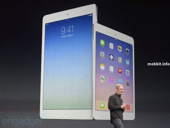 iPad Air и iPad mini с дисплеем Retina – что нового?