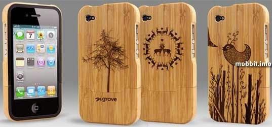 Бабмуковые чехлы для iPhone 4