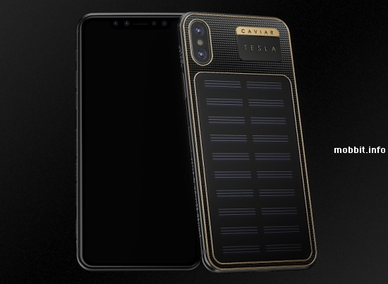iPhone X Tesla от Caviar