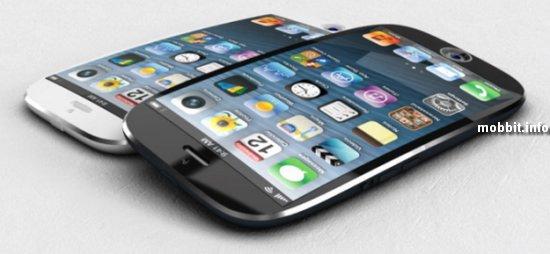 Новые iPhone будут изогнутой формы?