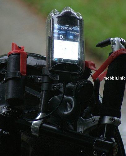 Самодельный водозащитный чехол для телефона