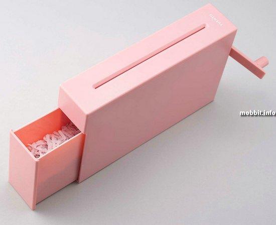 Компактный ручной шредер для дома