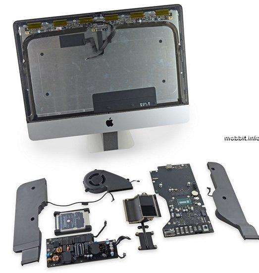 21, 5-дюймовый моноблок iMac разобран специалистами iFixit