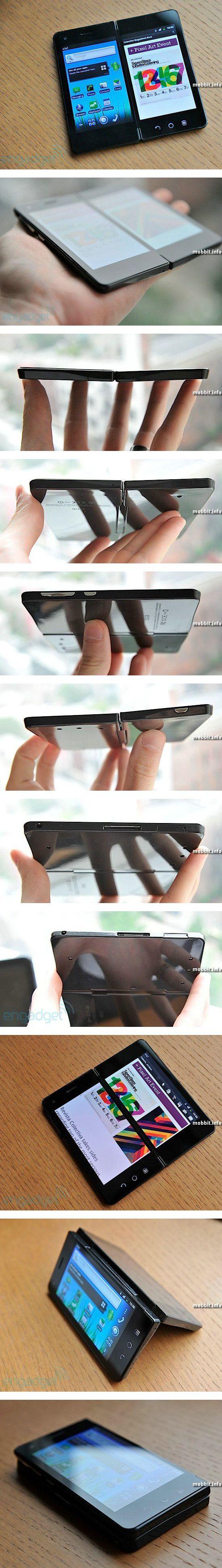 Смартфон с двумя дисплеями