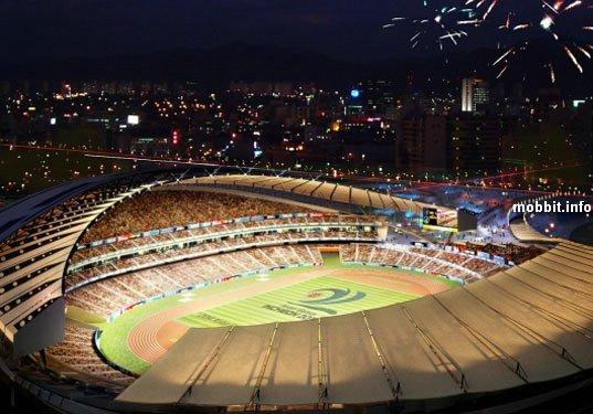 Проект стадиона для Азиатских Игр 2014