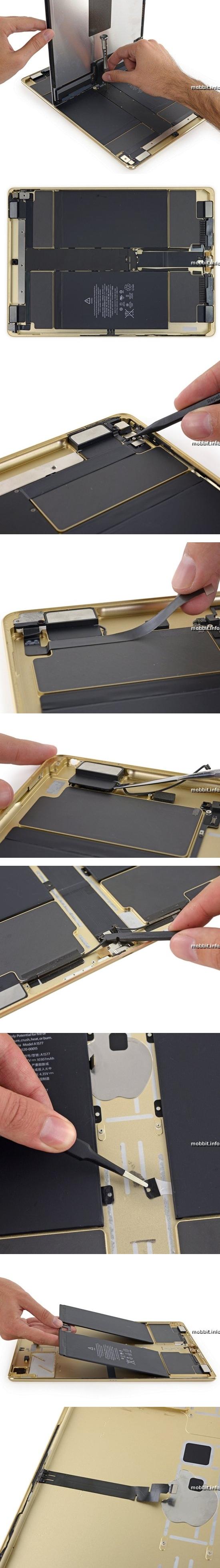 iPad Pro разобран специалистами iFixit