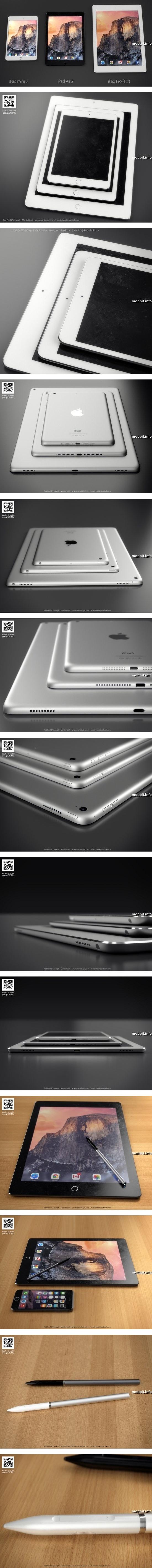 Концептуальный планшет iPad Pro
