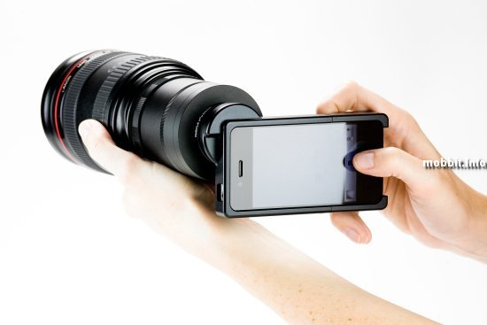 iPhone 4 SLR Mount