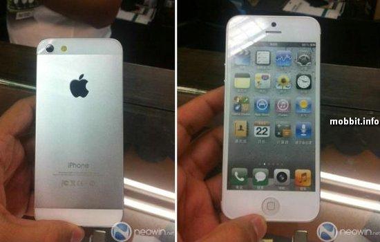iPhone 5 – финальный дизайн