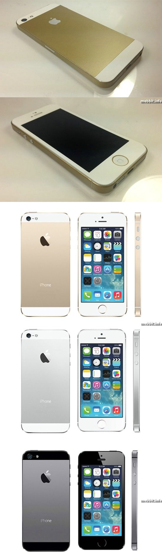 iPhone 5S Upgrade Kit for iPhone 5
