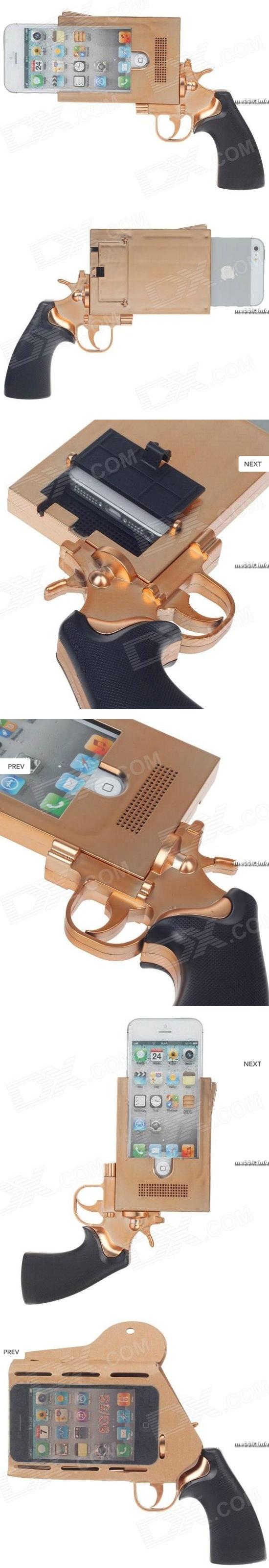 Чехол-пистолет для iPhone