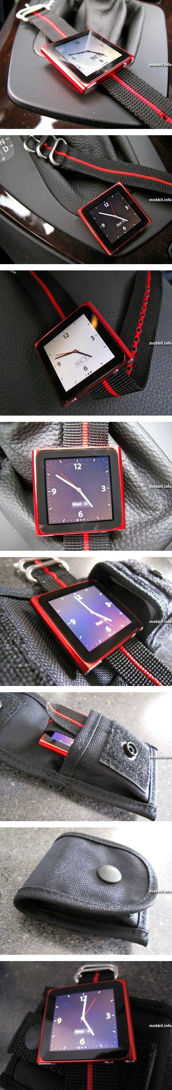 Специальные ремешки для iPod nano