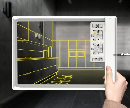 Прозрачный планшет Iris