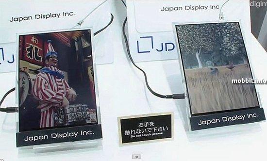 «Бумагоподобная» ЖК-панель с поддержкой видео от Japan Display