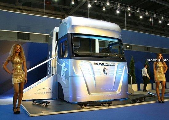 Уникальная кабина-трансформер для грузовиков от КАМАЗ