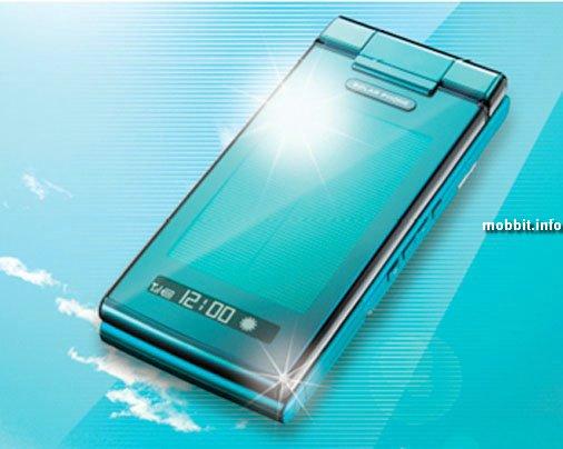 Sharp с солнечной батареей