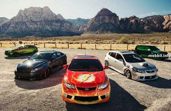 Новые автомобили Kia для супергероев