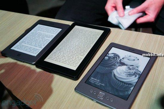 Новые e-ридеры Kindle