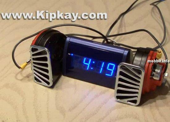 Самый громкий будильник в мире