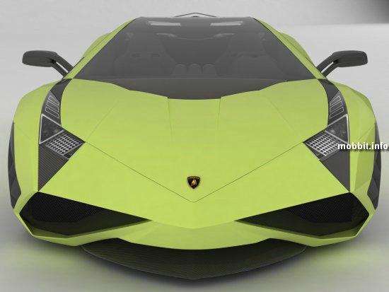 Новый дизайн Lamborghini Reventon