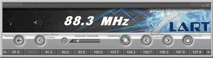 Lart USB FM Radio