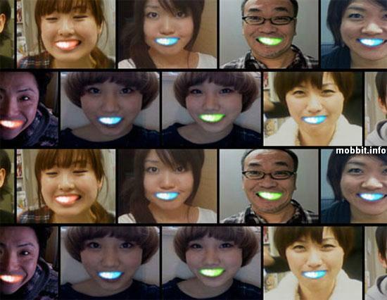 Светящиеся LED-улыбки