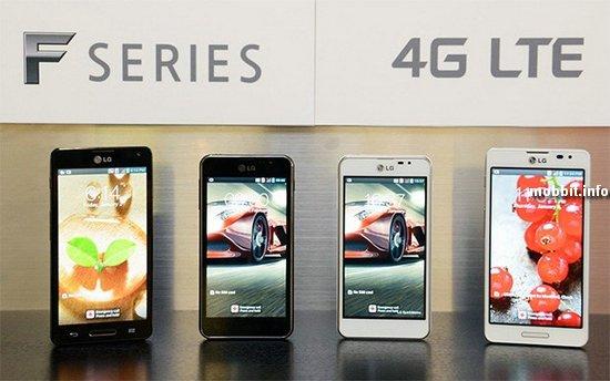 LG Optimus F5 и Optimus F7