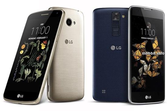 LG K5 и LG K8