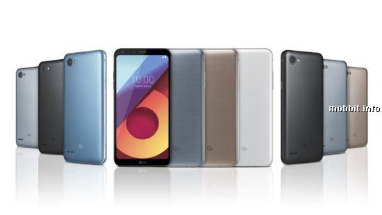 LG Q6, LG Q6+ и LG Q6a