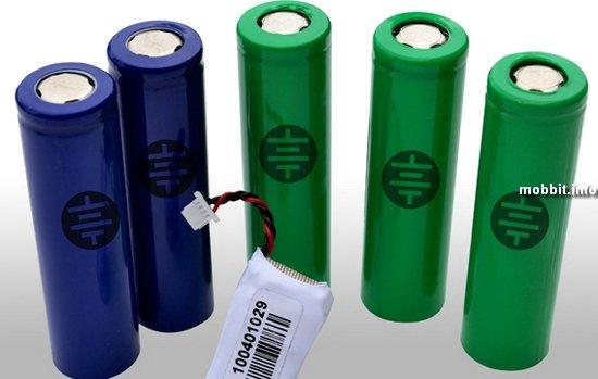 Литий-ионовые батареи с 3-летней гарантией
