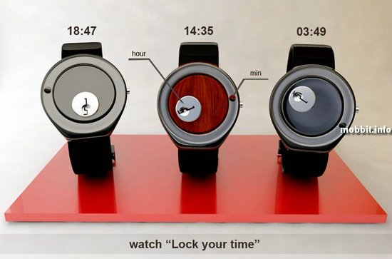 Оригинальный концепт часов