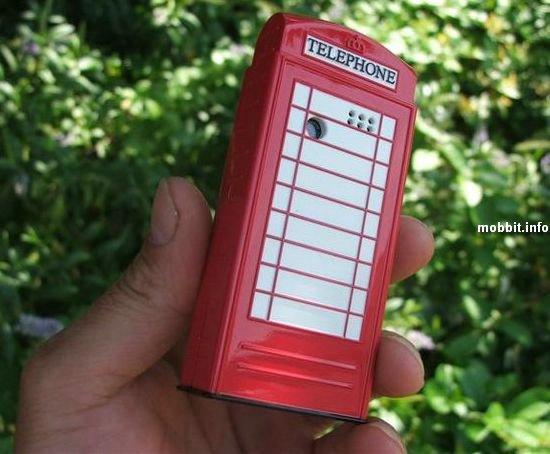 Телефон - лондонская достопримечательность