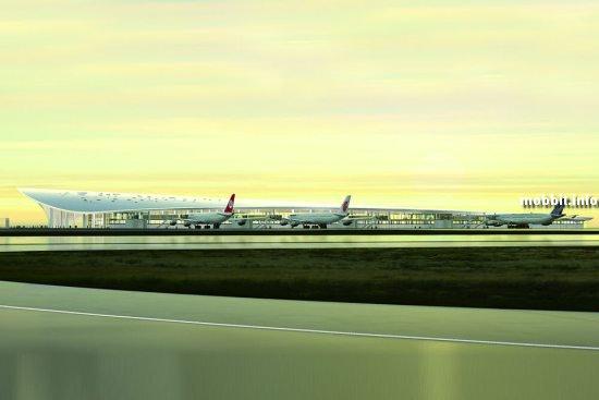 Концепт аэропорта для Мальдивских островов