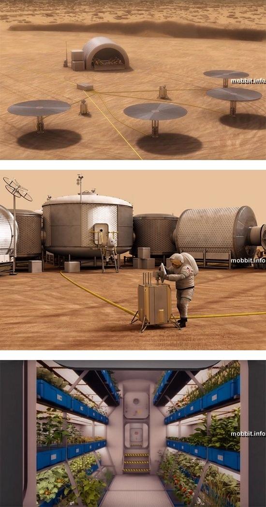 Концепция постоянной базы человечества на Марсе