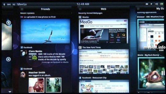 Планшет Nokia на MeeGo
