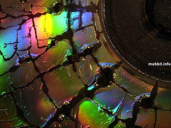 CD-диски в микроволновке