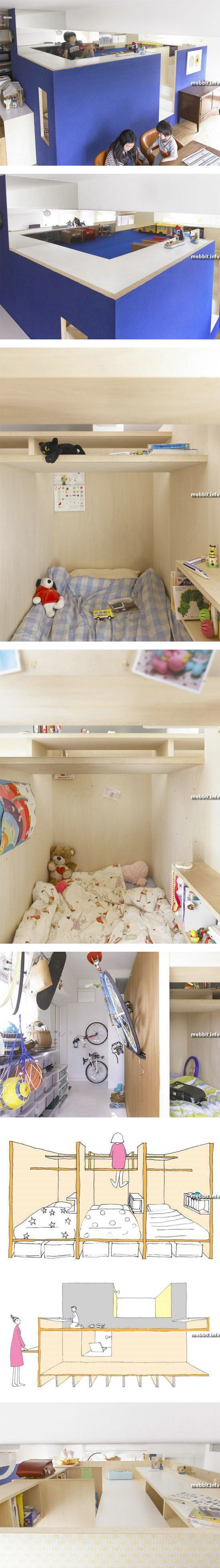 Крошечная двухуровневая квартира
