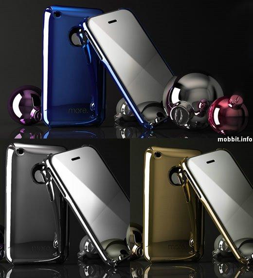 зеркальные чехлы для iPhone